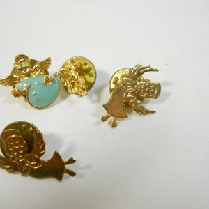 Jewelry - ANGEL Jewelry Lot - Guardian Angels and cupid Pins